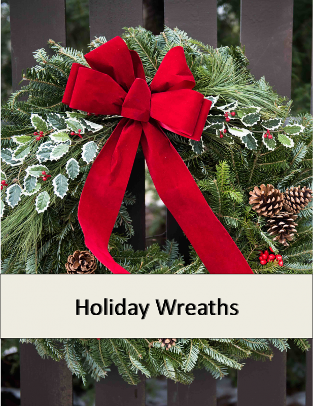 holiday wreath image
