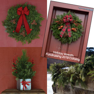Holiday Wreath Fundraising Catalog