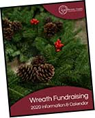 image of wreath fundraising information packet